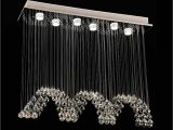Overstock Lighting Chandeliers New Wave Design Dinning Room Crystal Chandelier Lighting Modern Home