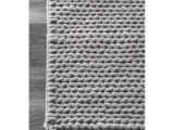 Overstock Runner Rugs Nuloom Handmade Chunky Braided Light Grey Wool Runner Rug 2 6 X 8
