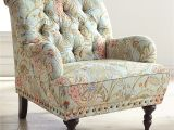 Overstuffed Chair Slipcover Chas Blue Floral Armchair Pinterest Nailhead Trim Armchairs and