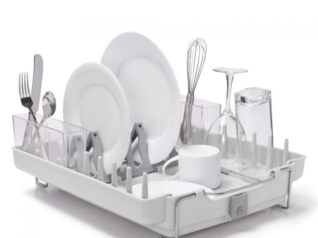 Oxo Good Grips Folding Stainless Steel Dish Rack Best Oxo Good Grips Folding Stainless Steel Dish Rack Oxo Good Grips