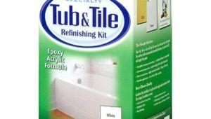 Painting Bathtub White Rust Oleum Tub and Tile Refinishing Kit White 2 Part Epoxy