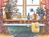 Painting Of Bathtub Vintage Bathtub I One Of Janet Kruskamp S original Oil
