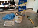 Painting Over Bathtub How to Paint Tile Tub or Sink Product From Home Depot