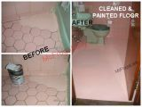 """Painting Over Bathtub Tile No Cleaners Would Whiten My """"black Decor Trim"""" On the"""