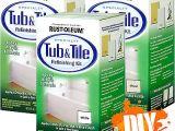 Painting Porcelain Bathtub Rust Oleum Tub & Tile Epoxy Porcelain Paint Kit Bath Sink