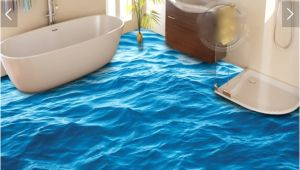 Painting Vinyl Bathtub Aliexpress Buy 3 D Pvc Flooring Custom Waterproof