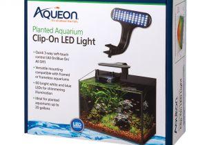 Petco Aquarium Light Aqueon Live Planted Aquarium Clip On Led Fixture Petco