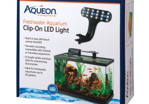 Petco Aquarium Light Aqueon Marine Aquarium Clip On Led Fixture Petco