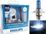 Philips Light Bulbs Automotive Philips Diamond Vision 9003 H4 Xenon Hid Look Headlight Bulbs Pair