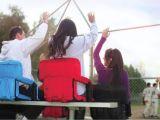 Picnic Time Ventura Folding Stadium Chair 618 Picnic Time Ventura Seat Youtube