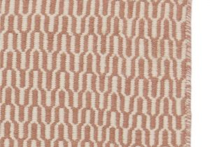 Pink Fur Rug Target Overod Rug Dusty Pink Amp Off White Geometric Design