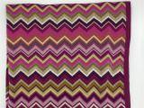 Pink Throw Rug Target Missoni for Target Chevron Knit Baby Blanket Purple Pink Green Gray