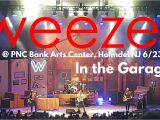 Pnc Bank Arts Center Garden State Pkwy Holmdel Nj Weezer In the Garage Live Pnc Bank Arts Center Holmdel Nj 7 20