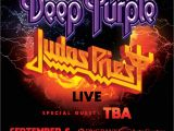 Pnc Bank Arts Center Garden State Pkwy Holmdel Nj Wrat Presents Deep Purple Judas Priest Pnc Bank Arts Center