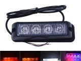 Police Interior Light Bars 4×3 Led Ambulance Police Light Dc 12v Strobe Warning Light for Car