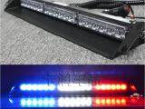 Police Interior Light Bars Mzorange 12 Leds 24v 36w Car Warning Light Red Blue White Truck