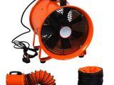 Portable Bathroom Extractor Portable Industrial Ventilator Axial Blower Workshop