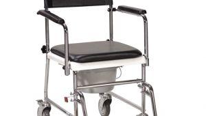 Portable Bathroom On Wheels 3 In 1 Lightweight Foldable Armrest Backrest Mode