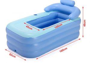Portable Bathtub for Adults Uk 160cm Adult Pvc Folding Portable Blowup Bathtub Outdoor