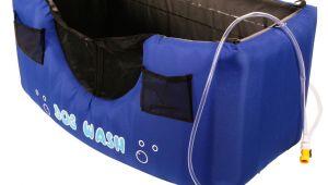 Portable Bathtub for Camping Dog Wash Tub Hugs Inflatable Dog Wash