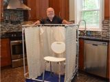 Portable Bathtub for Seniors Indoor Portable Showers for Wheelchair Access Temporary