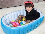 Portable Bathtub for toddler Pvc Safety Portable Inflatable Baby Swimming Pool for 0 3