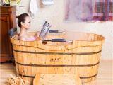 Portable Bathtub where to Buy Cedar Bath Bucket Bathtub Bath Barrel Bath Tub Portable