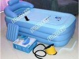 Portable Blow Up Bathtub Secuda Adult Folding Portable Spa Bathtub Pvc Warm