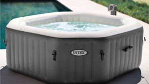 Portable Jacuzzi for Bathtub Jacuzzi Hot Tub Portable Bath Spa Heated Bubble Jets 4 Person Water