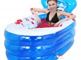 Portable Plastic Bathtubs for Adults Portable Bath Adult Bathtub Plastic Inflatable Bath Tub