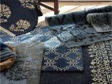 Pottery Barn Rugs Australia Scroll Tile Rug Indigo Blue Rug Cb Inspo Pinterest