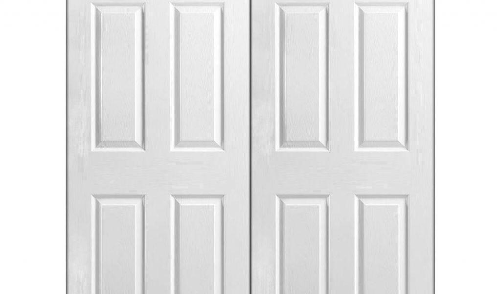 Prehung 8ft Interior Doors Masonite 48 In X 80 In 6 Panel Primed