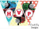 Printable Thomas the Train Party Decorations Doodlebug Designs Thomas the Train Birthday Banner Free Printable