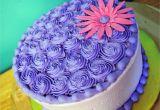 Private Cake Decorating Classes Near Me Purple buttercream Cake Sweet Melissa S Cakes Pinterest Cake