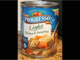 Progresso Light Chicken Noodle soup Progresso Chicken Dumpling Food Review Youtube