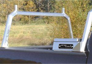 Protech Headache Rack Black Rear Goal Post Truck Racks Work Trucks