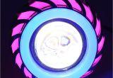 Purple Halo Lights Dual Halo Angel Devil Eye Motorcycle Headlight 12v 85v Moto