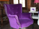 Purple Vanity Chair Purple Velvet Arm Chair 875 Heaven I M In Heaven Home