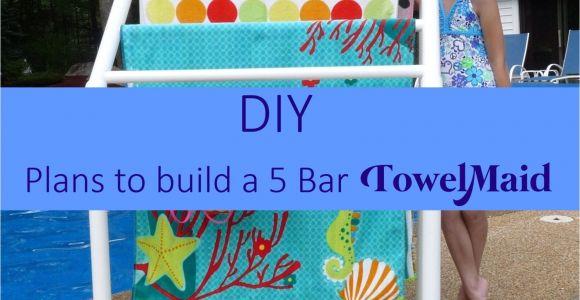 Pvc Pool Float Rack Plans Diy Plans for 5 Bar towelmaid Read Listing Pinterest towels Bar