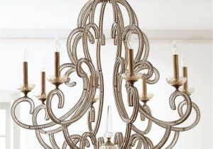 Quatrefoil Light Fixture Beaded Elegance Eight Light Chandelier John Richard Collection