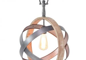 Quatrefoil Light Fixture Mixed Metal and Wood and Sphere Chandelier Chandeliers Metals and