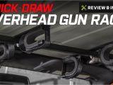 Quick Draw Gun Rack for Utv Wrangler Quick Draw Overhead Gun Rack for Tactical Weapons 1987