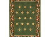 Qvc Large area Rugs Royal Palace Special Edition 5 X7 Fleur De Lis Wool Rug Page 1