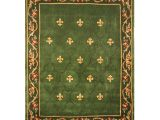 Qvc Large area Rugs Royal Palace Special Edition 8 X10 6 Fleur De Lis Wool Rug Page 1
