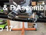 Rack and Pinion Rebuild Shop Datsun 240z Build Episode 17 Rack and Pinion Rebuild assembly