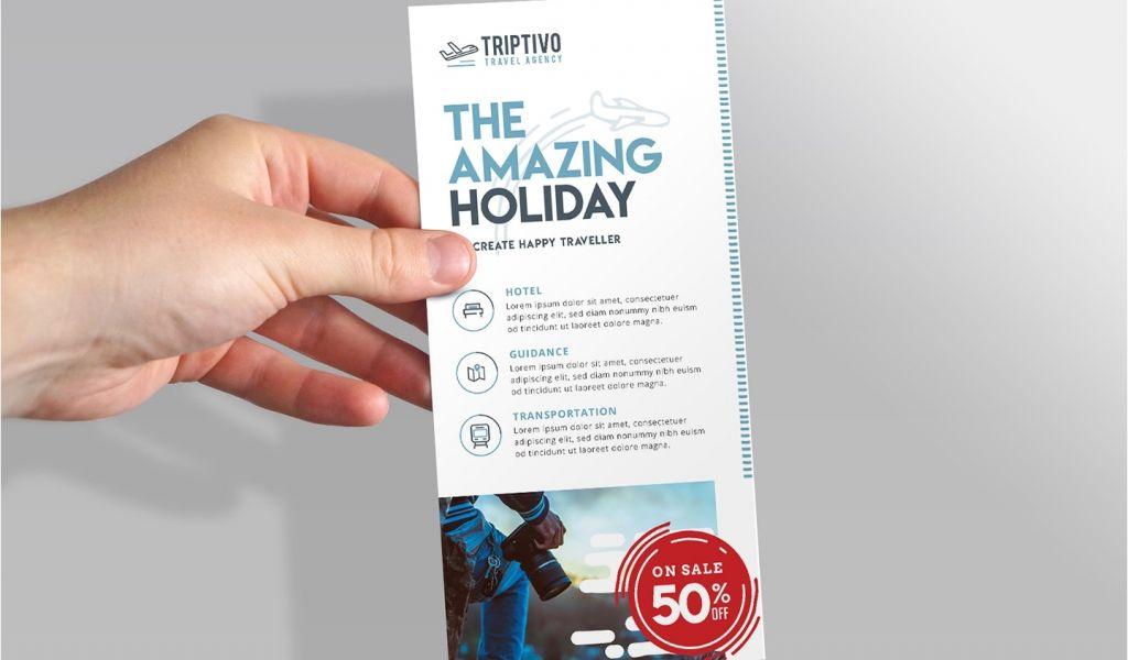 Rack Card Size Indesign Photoshop Greeting Card Templates Elegant