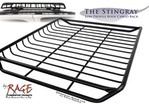 Rage Stingray Roof Rack Low Profile Roof Cargo Rack Youtube
