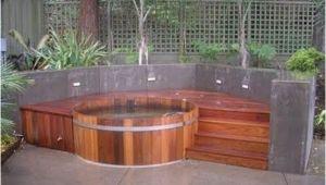 Raised Bathtub Designs Round Tub with Raised Deck 48 Awesome Garden Hot Tub