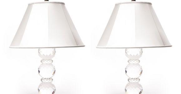 Ralph Lauren Faceted Crystal Lamp Pair Of Ralph Lauren Faceted Crystal Prism Table Lamps Decor Nyc Store