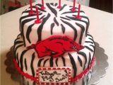 Razorback Cake Decorations Razorback Cake Razorbacks Pinterest Razorback Cake